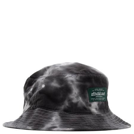Afield Out Tie Dye Bucket Hat - Black