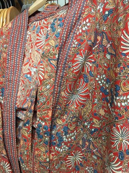 Handprint Kimono Robe