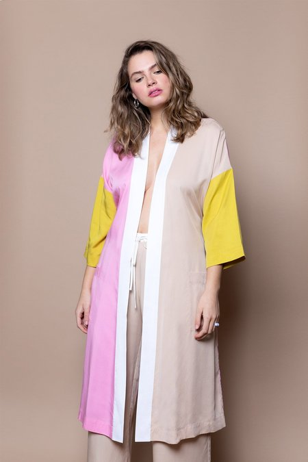 Soft Focus The Classic Robe –Pink Mix