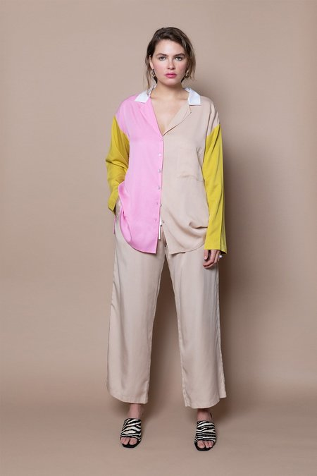 Soft Focus The Lounge Shirt – Pink Mix