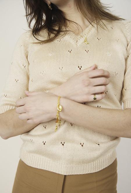 Soraya Charm Bracelet - Gold