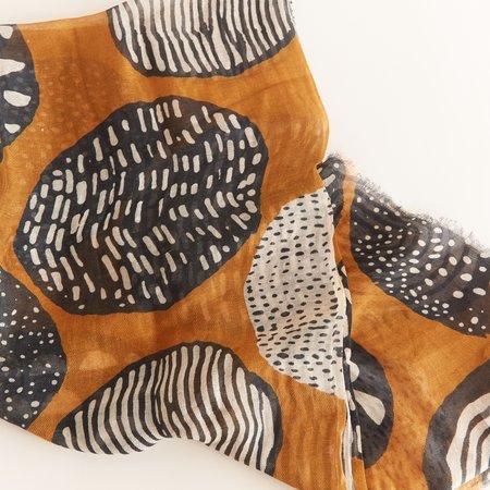 Hartford Linen Scarf - brown
