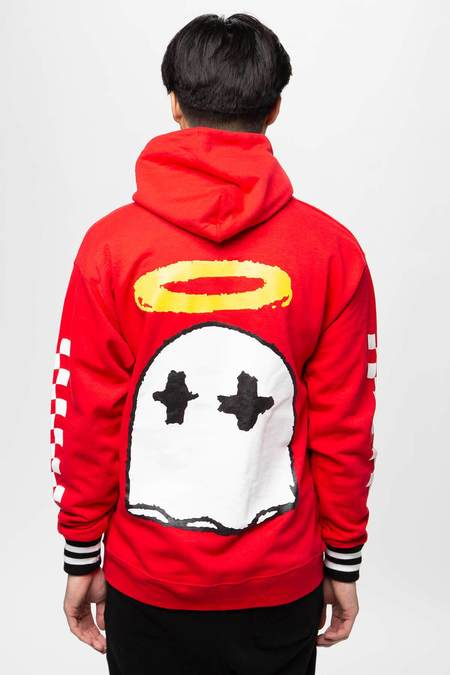 BWood NYC Party Boy Hoodie - red