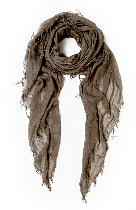Chan Luu Cashmere and Silk Scarf - Chocolate Chip