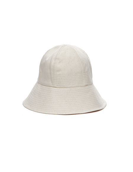 Jil Sander Selvedge Denim Bucket Hat - Beige