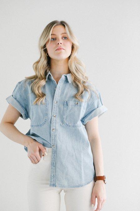 Rolla's Daria Denim Shirt