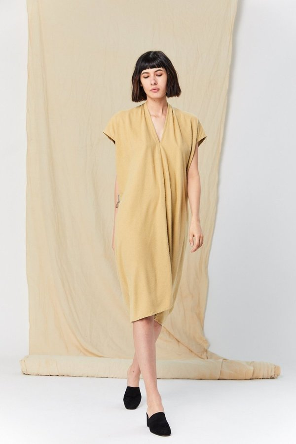 Miranda Bennett Silk Noil Everyday Dress