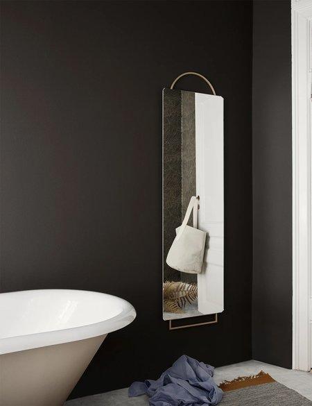Ferm Living Adorn Mirror (45 x 159 cm) - Brass