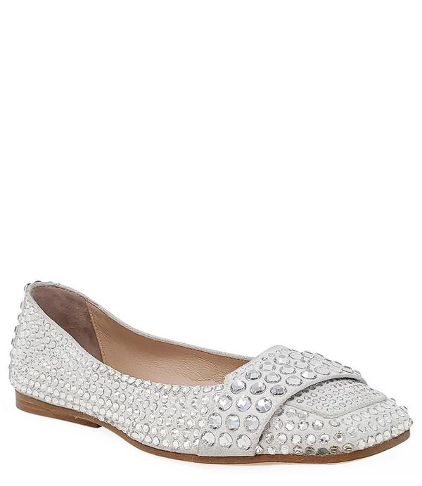 Madison Maison By Eddy D Ballet Flat - Silver