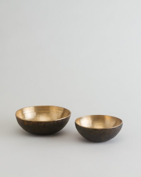 This.co Small Bronze Bowl