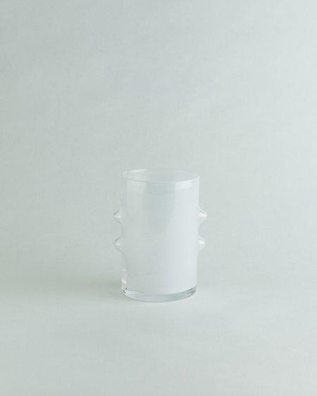 Abeni Hand Blown Opalescent Bud Glass #3