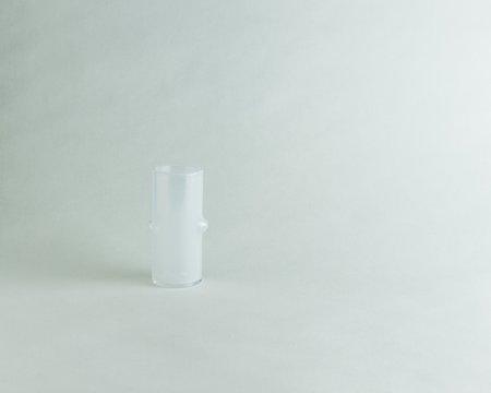 Abeni Hand Blown Opalescent Bud Vase