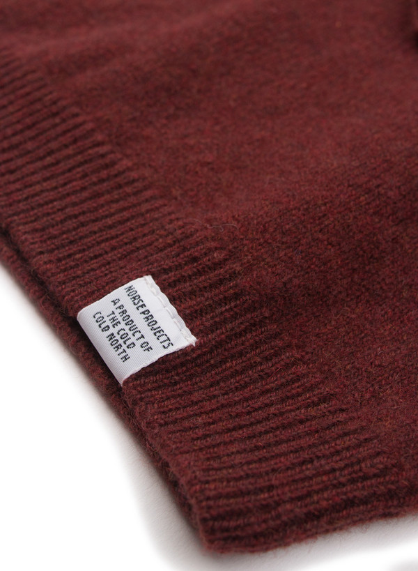 074c95daffe Men s Norse Projects Sigfred Lambswool Red Clay