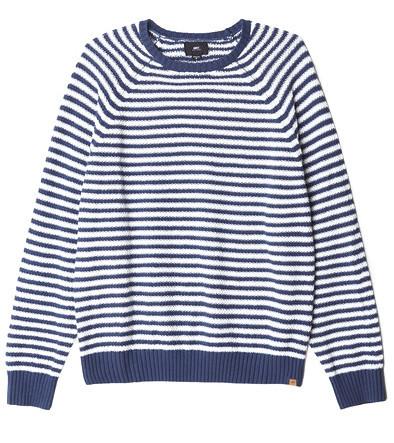 Men's Obey Drifter Striped Sweater