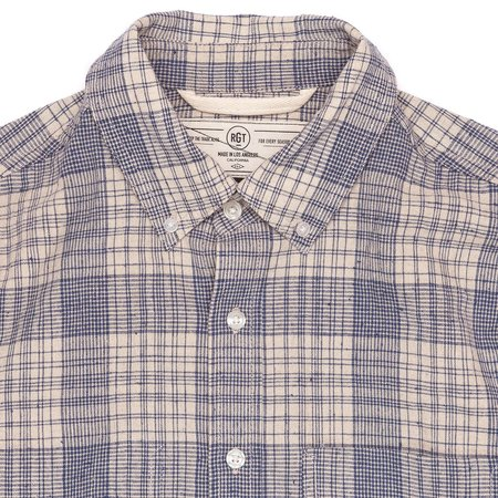 Rogue Territory Jumper Shirt - Linen Blend Plaid
