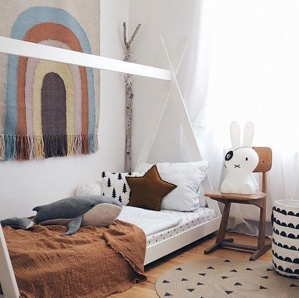 OYOY Follow the Rainbow Wall Rug