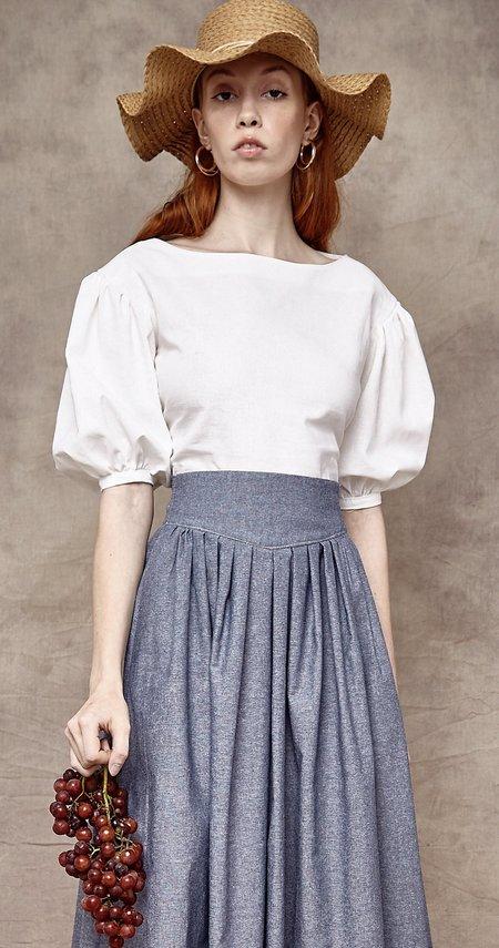 Rightful Owner The Norah Skirt - Blue