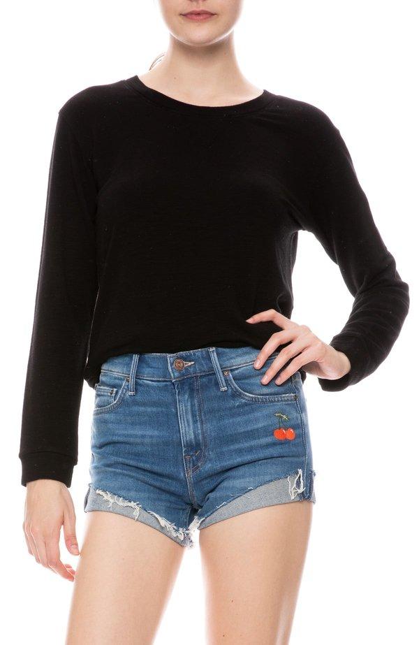 Monrow French Terry Sweatshirt