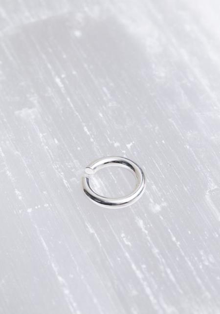 Saskia Diez Sterling Silver Bold Ear Cuff