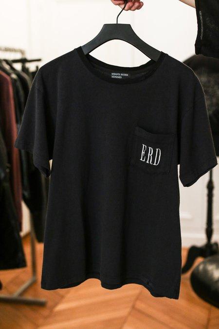 Enfants Riches Deprimes Checkerboard T Shirt - Black