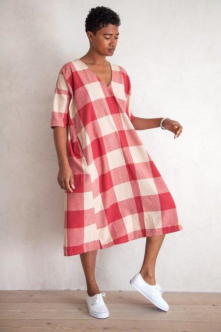 Ali Golden FULL DRESS W/ POCKETS - RASPBERRY GINGHAM