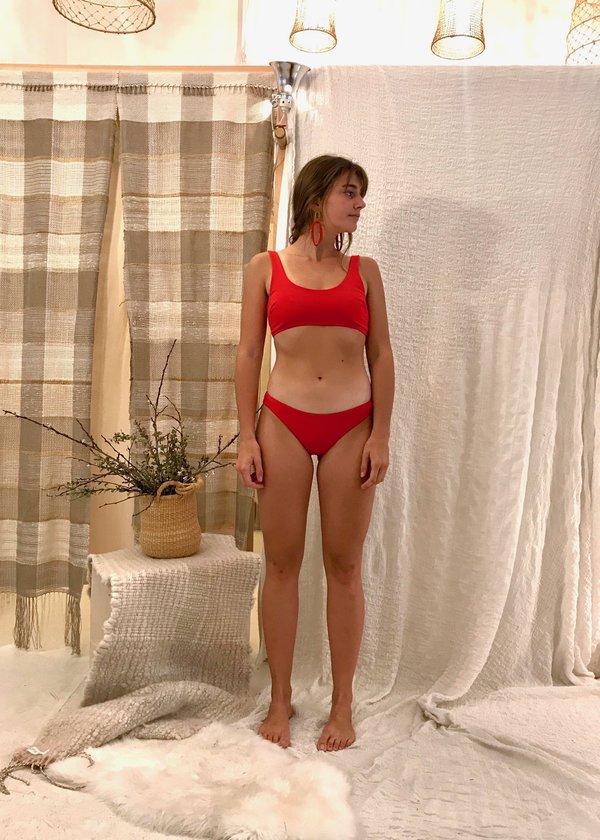 Mara Hoffman Zoa Bottom - Red Coat