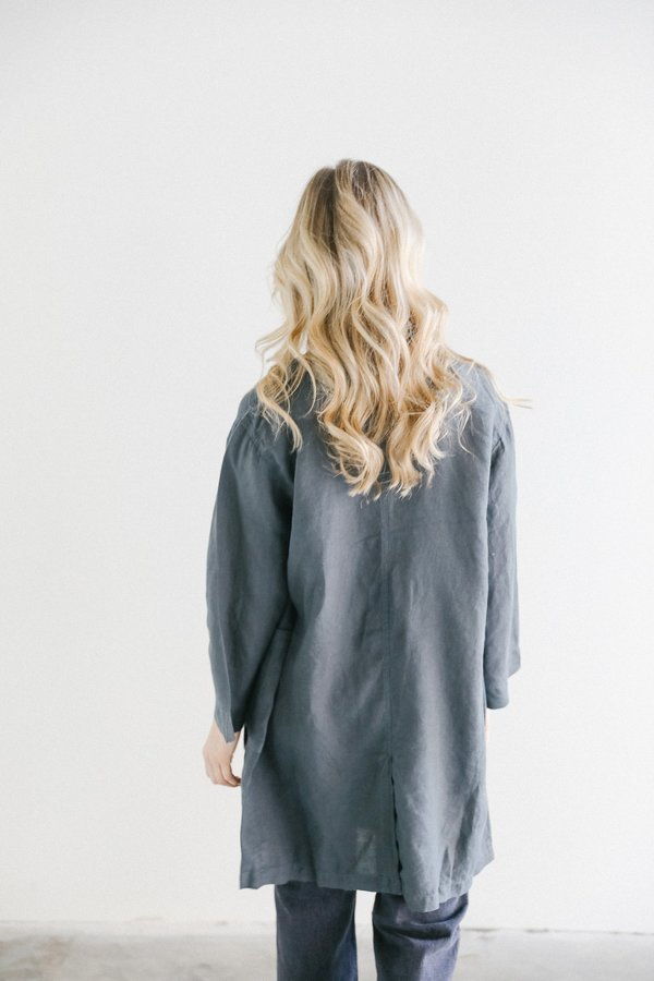 Filosofia Caroline Linen Jacket - Natural