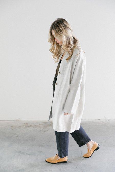 Filosofia Sienna Linen Duster Jacket - Natural