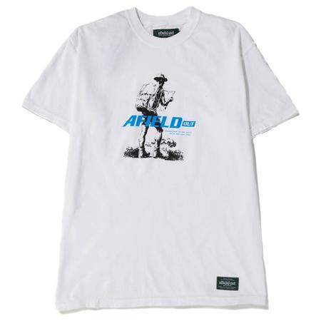 Afield Out Bushwalker T-shirt - White