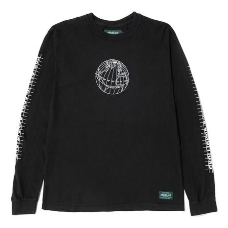 Afield Out Equator Long Sleeve T-shirt - Black