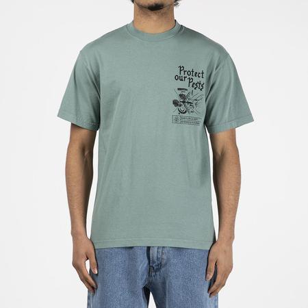 Babylon Pests T shirt - Atlantic Green