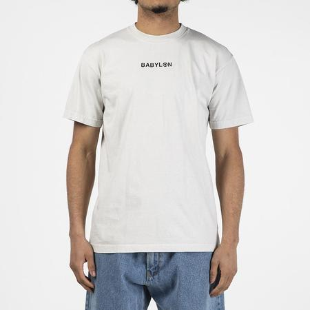 Babylon Shop T shirt - Cement Wash