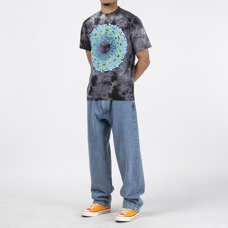 Babylon Trip T shirt - Grey Tie Dye