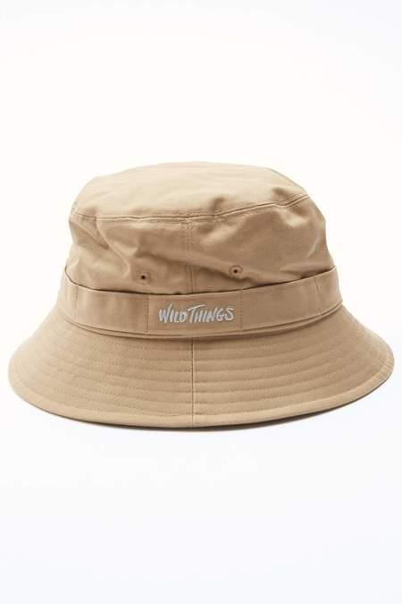 Wild Things Bucket Hat - Light Beige