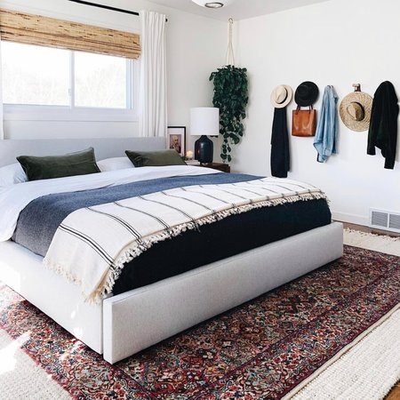 The Loomia Turkish Cotton Bedspread Blanket - Black Stripe
