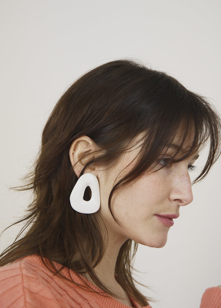 Loroupe Ceramic Earrings