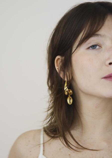 Eyland Elara earrings - gold