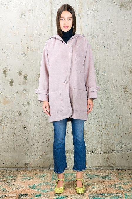 Kristinit Cuddly Coat - Purple