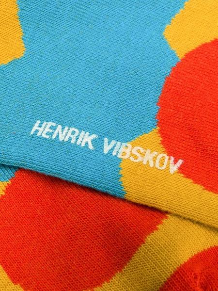 Henrik Vibskov Stuck Boat Socks - Yellow (2pk)