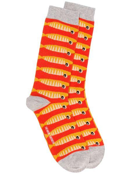 Henrik Vibskov Sardine Socks - Yellow (2pk)