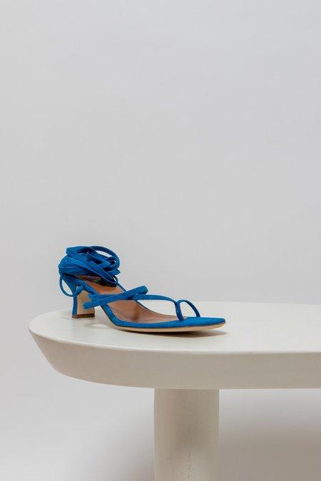 Paris Texas suede Wrap Sandals - Blue