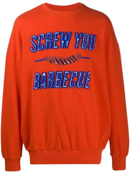 Henrik Vibskov Screw U BBQ Sweatshirt - Red
