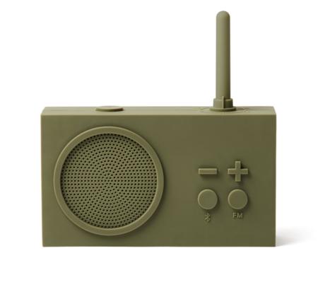 Tykho 3 Water resistant FM Radio Bluetooth Speaker