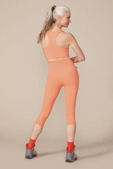 Girlfriend Collective Short Compressive High-Rise Legging - Sherbert