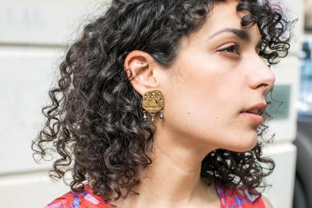 Plutonia Blue Daughters Stud Earrings