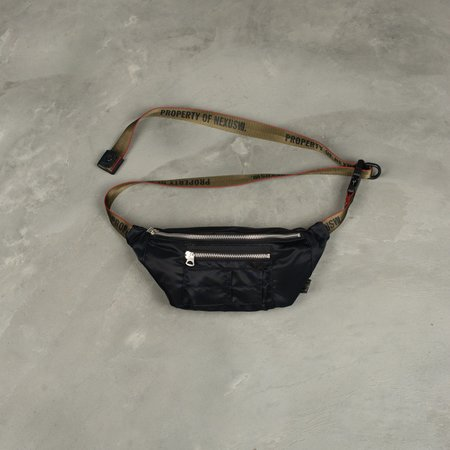 NEXUSVII Porter Utility Waist Bag - Black
