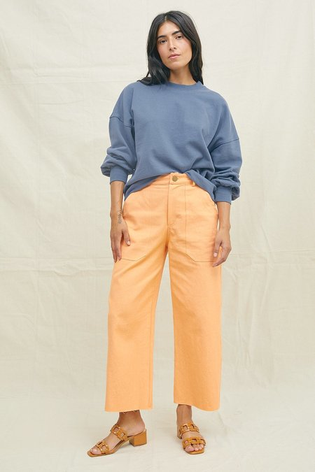 BACK BEAT RAGS Hemp West Utility Pants