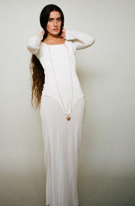 Bevza Scarlett Dress - Ivory