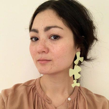Four Eyes Ceramics Viola Earrings