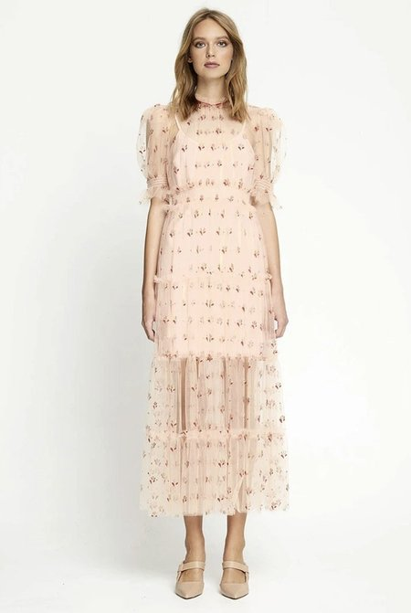 ALICE MCCALL Cowboy Tears Midi Dress - pink